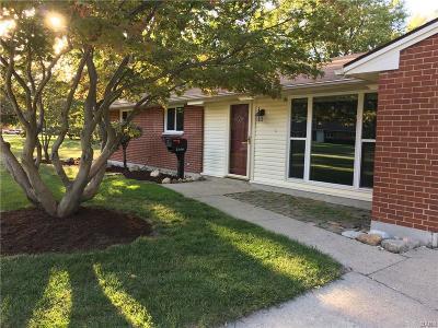 Centerville Single Family Home For Sale: 2549 Marscott Drive