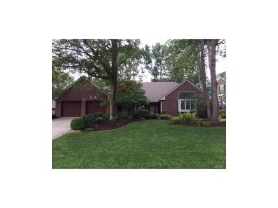 Tipp City Single Family Home For Sale: 7642 Winding Way N
