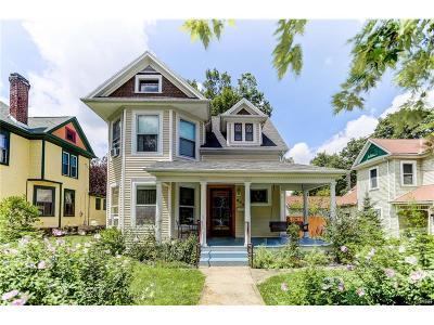 Xenia Single Family Home Active/Pending: 602 Detroit Street