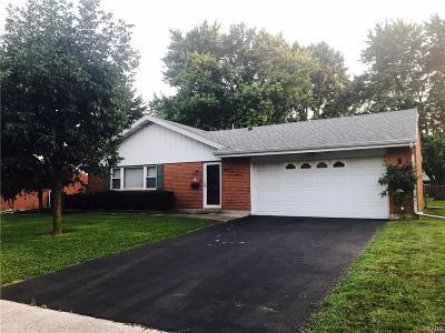 Xenia Single Family Home Active/Pending: 1308 Joyce Drive
