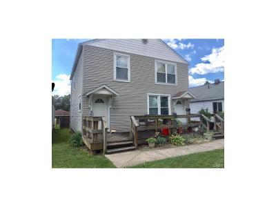 Fairborn Multi Family Home For Sale: 849 Maple Avenue