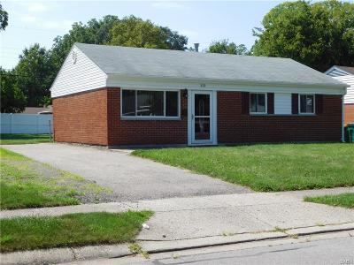 Fairborn Single Family Home For Sale: 223 Routzong Drive