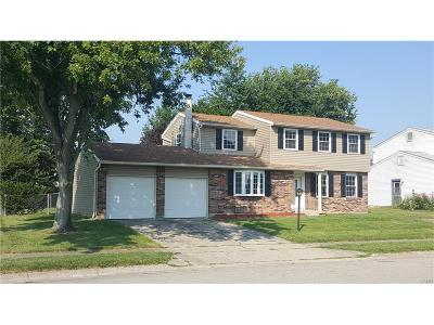 Xenia OH Single Family Home For Sale: $158,900