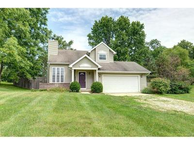 Beavercreek Single Family Home Active/Pending: 2848 New Germany Trebein Road