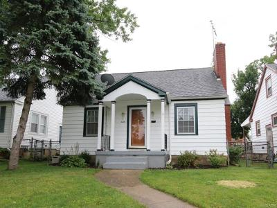 Dayton OH Single Family Home For Sale: $55,000