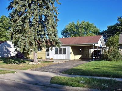 Vandalia Single Family Home For Sale: 853 Westhafer Road