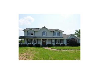Xenia Single Family Home Active/Pending: 3020 Hoop Road