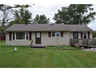 Brookville OH Single Family Home For Sale: $72,900