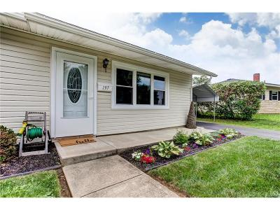 Xenia Single Family Home For Sale: 197 Lowell Road