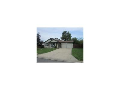 Clayton Single Family Home Active/Pending: 5821 Coralberry Drive