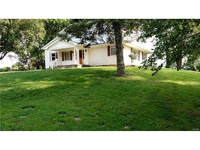 Troy Single Family Home For Sale: 3675 Deweese Road