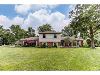Centerville Single Family Home For Sale: 5460 Royalwood Drive