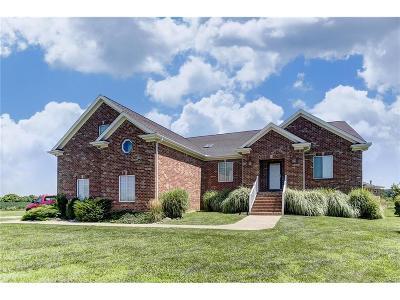 Xenia Single Family Home For Sale: 414 Monroe Siding Road