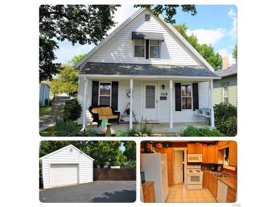 Tipp City Single Family Home For Sale: 319 5th Street