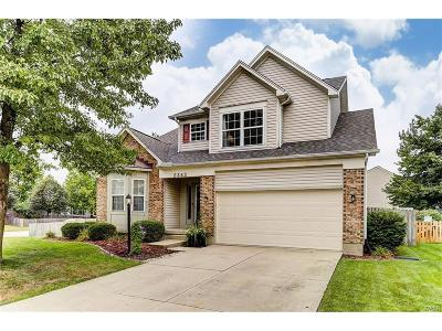Miamisburg Single Family Home Active/Pending: 2363 Queensway Drive
