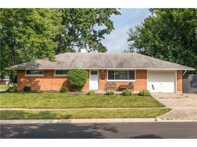 Huber Heights Single Family Home For Sale: 4701 Neptune Lane