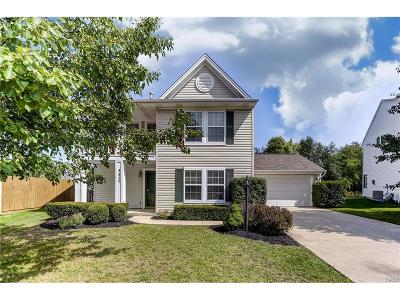 Tipp City Single Family Home For Sale: 4837 Red Bird Court