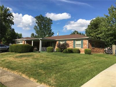 Huber Heights Single Family Home For Sale: 4901 Pennswood