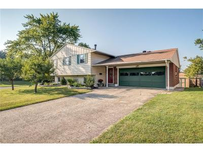 Huber Heights Single Family Home For Sale: 6328 Hemingway Road