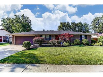 Huber Heights Single Family Home For Sale: 5030 Bluffview Drive