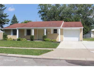 Dayton OH Single Family Home For Sale: $109,982