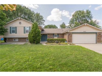 Beavercreek Single Family Home Active/Pending: 2461 Clubside Drive