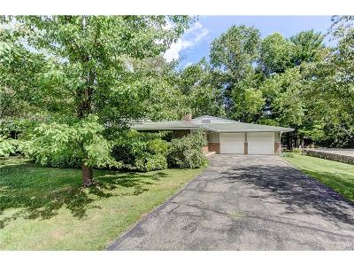 Yellow Springs Single Family Home For Sale: 1425 Spillan Road