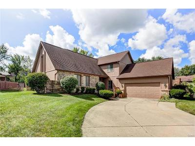 Miamisburg Single Family Home Active/Pending: 1546 Hickory Glenn Drive