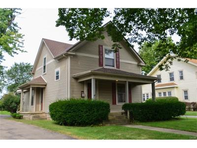 Xenia Single Family Home For Sale: 1016 North Detroit