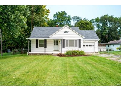 Enon Single Family Home For Sale: 7360 Dayton Springfield Road