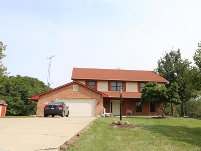 Xenia Single Family Home For Sale: 1790 Winchester Road