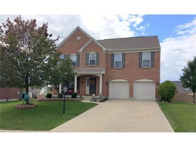 Miamisburg Single Family Home For Sale: 1338 Granite Peak Way