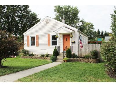 Kettering Single Family Home Active/Pending: 1063 Eureka Drive