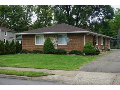 Fairborn Multi Family Home For Sale: 122 Miller Avenue #124