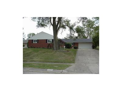 Miamisburg Single Family Home Active/Pending: 1312 Wise Drive