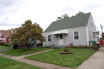 Kettering Single Family Home Active/Pending: 1939 Malcom Drive