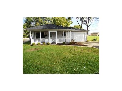 Xenia Single Family Home For Sale: 346 Bellbrook Avenue