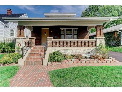 Dayton Single Family Home For Sale: 1844 John Glenn Road