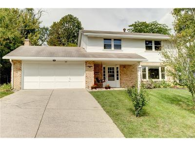 Fairborn Single Family Home For Sale: 349 Cherrywood Drive