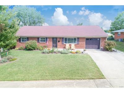 Miamisburg Single Family Home For Sale: 244 Carlwood Drive