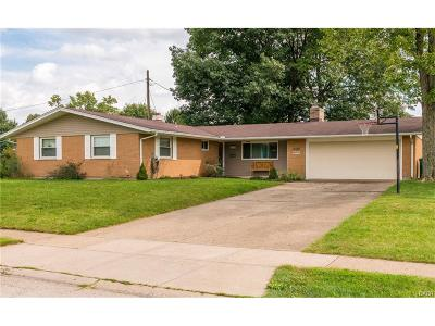 Fairborn Single Family Home For Sale: 1114 Saratoga Drive