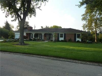Kettering Single Family Home For Sale: 3448 Westbury Road