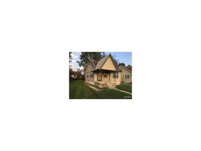 Dayton Single Family Home For Sale: 705 Osmond Avenue
