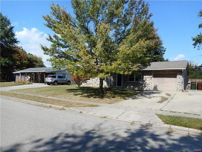 Xenia Single Family Home Active/Pending: 1533 Roxbury Drive
