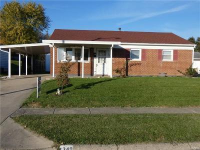 Dayton Single Family Home For Sale: 1349 Cobblestone Street