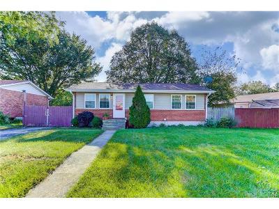 Dayton Single Family Home For Sale: 2010 Brandt Pike