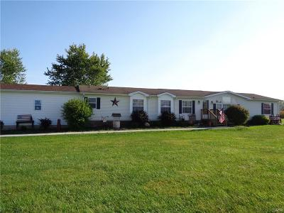 Brookville Single Family Home Active/Pending: 10820 National Road
