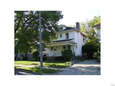 Dayton Single Family Home For Sale: 316 Kenwood Avenue