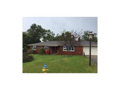 Enon Single Family Home For Sale: 350 Broadway Avenue