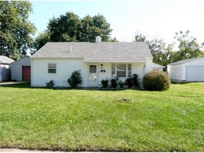 Tipp City Single Family Home For Sale: 48 Kiser Drive